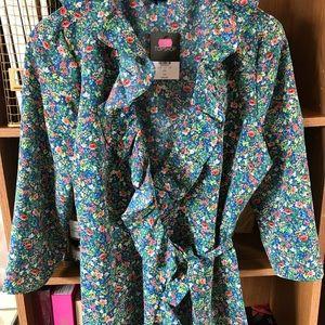 Topshop Dresses - TOPSHOP floral wrap dress